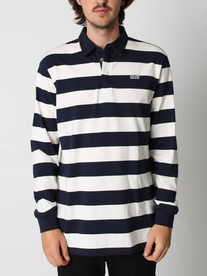 NAVY/WHITE STRIPES