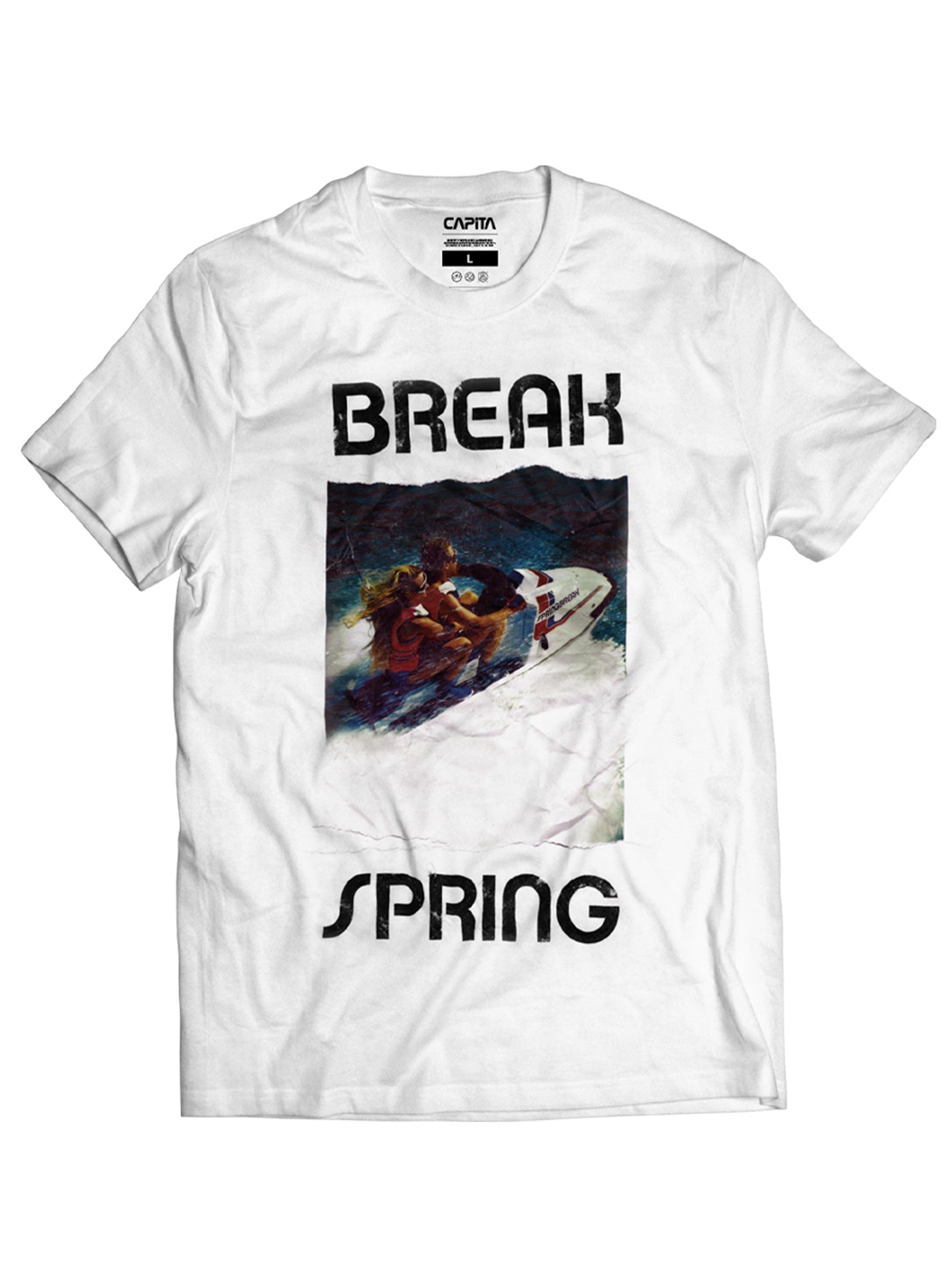 Spring Break Twin T-Shirt