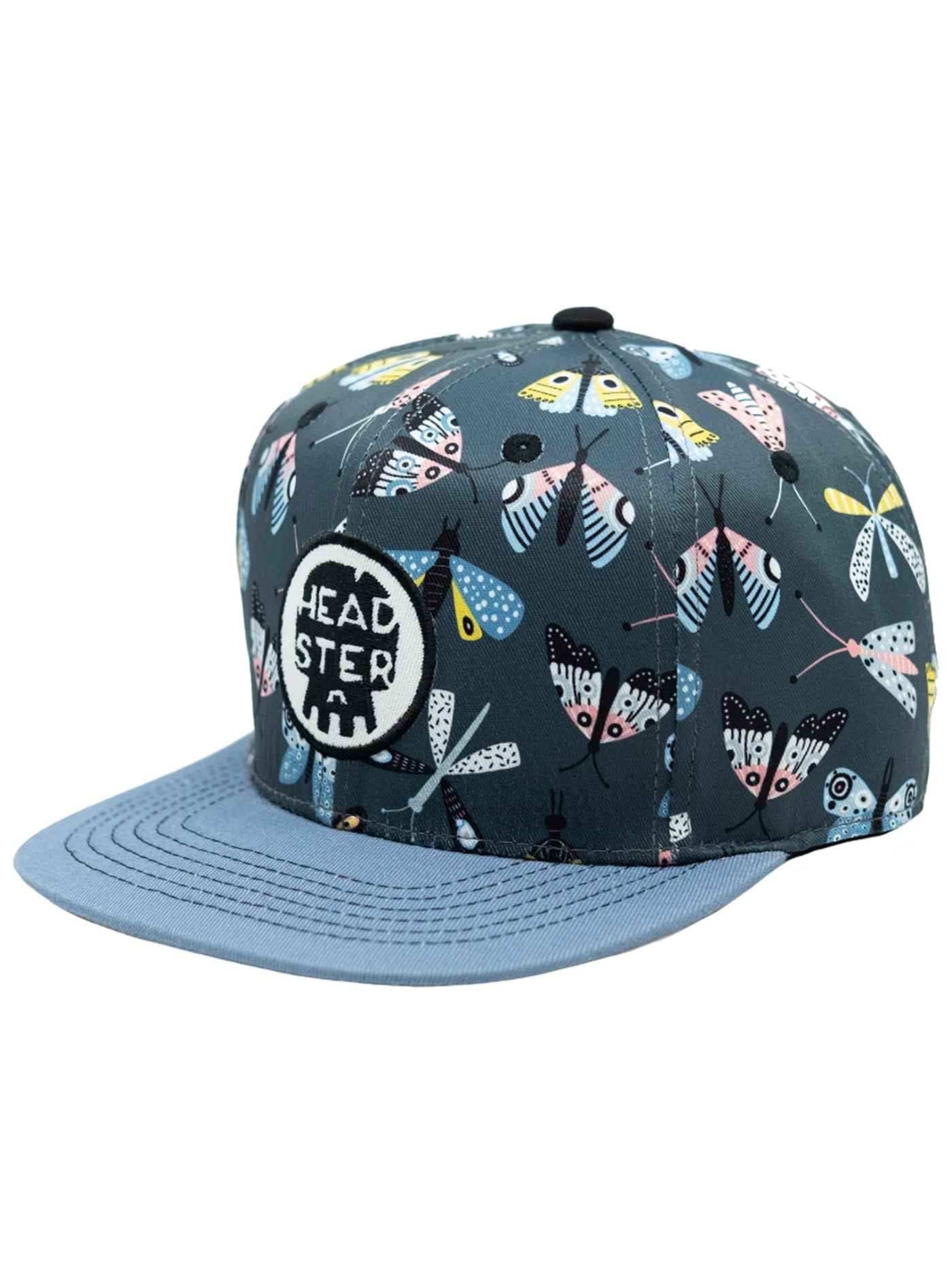 Magical Moth Snapback Hats (Little Kids)