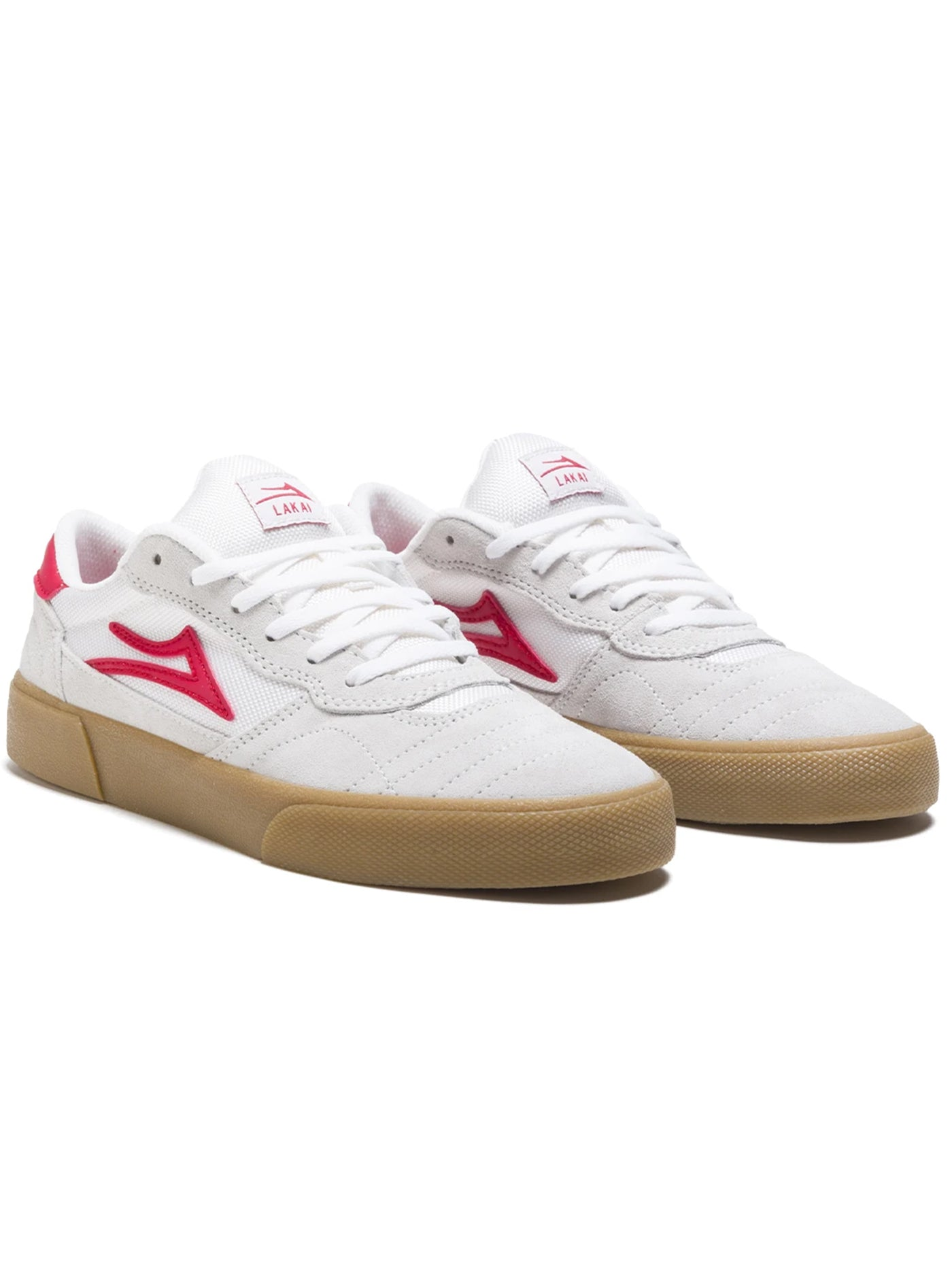 WHITE/RED SUEDE (WRS)