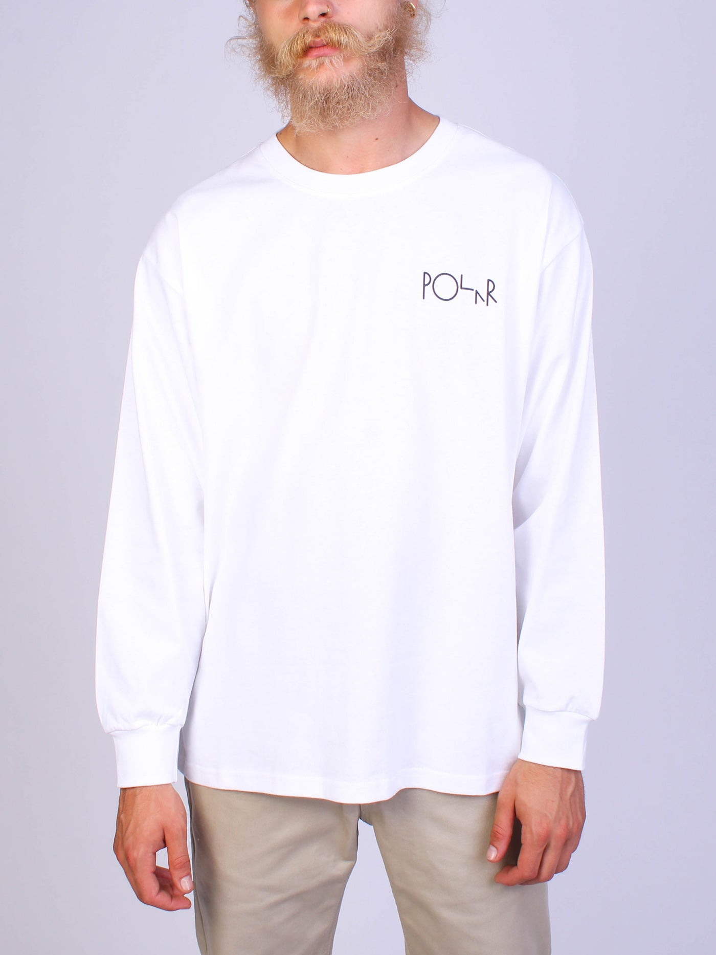 Memory Palace Fill Logo Long Sleeve T-Shirt