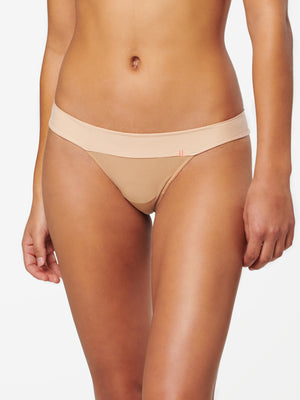 Wide Side Thong Nylon Pantie
