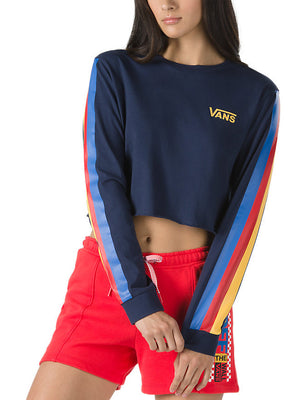 Rainee Crop Long Sleeve T-Shirt