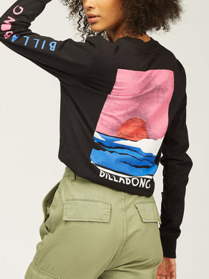 Sunset View Long Sleeve T-Shirt