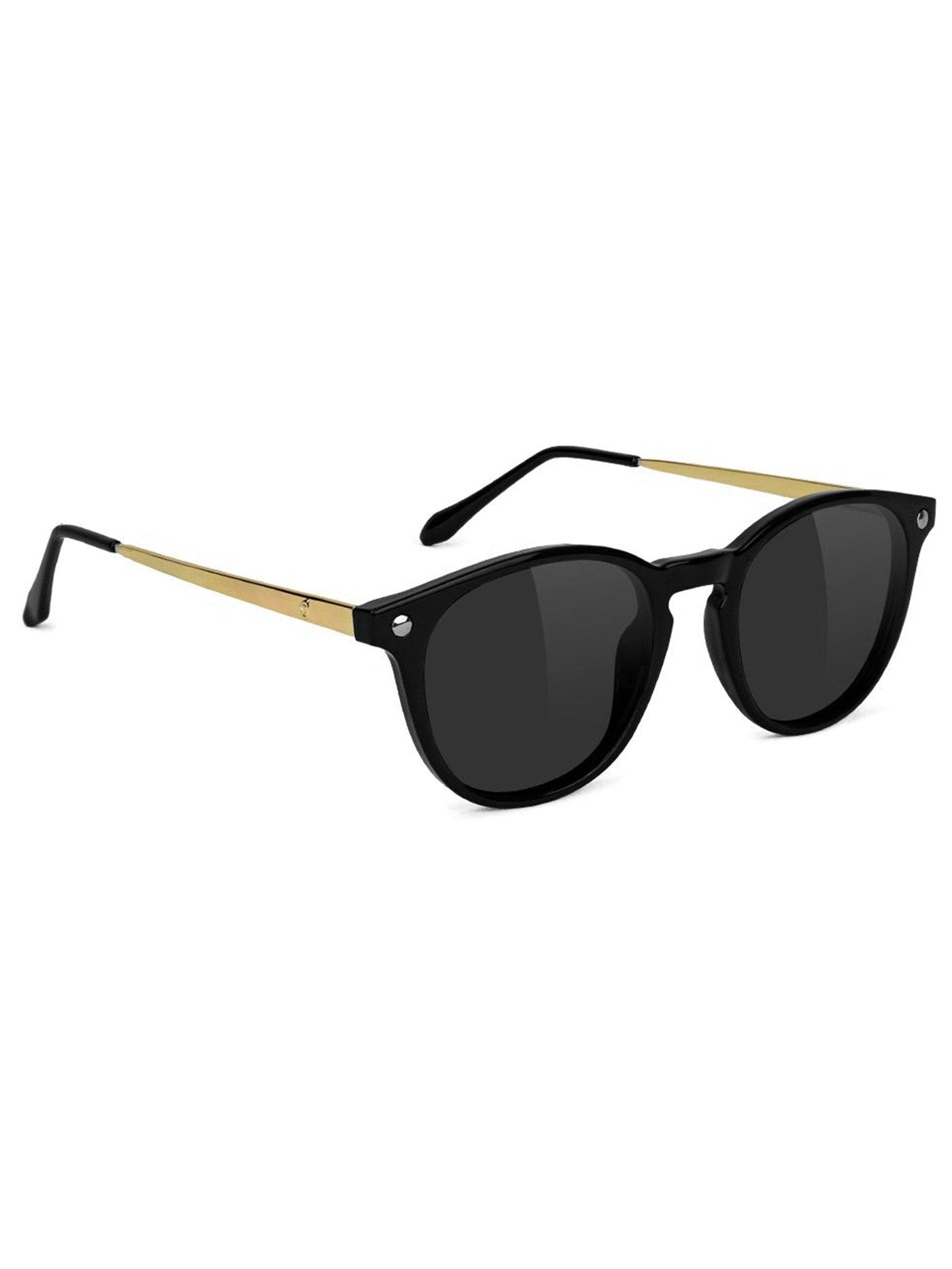 BLACK/GOLD POLARIZED