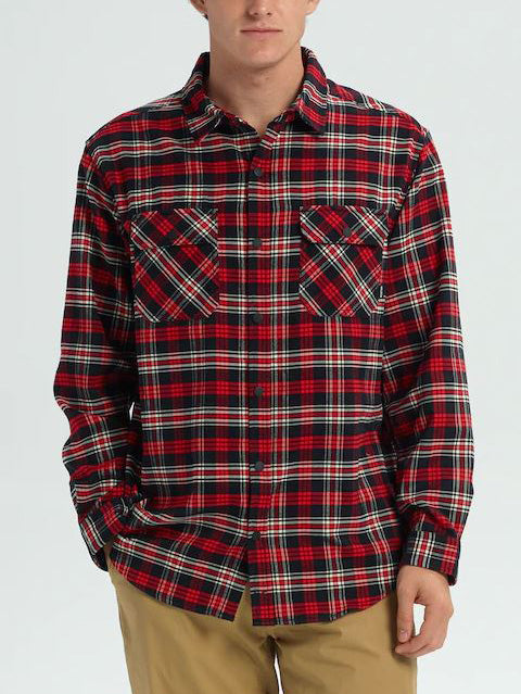 FLAME SCARLET PLAID (600)
