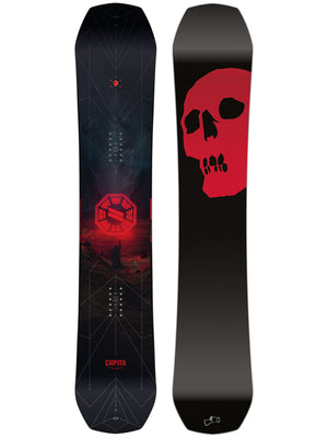 The Black Snowboard of The Death