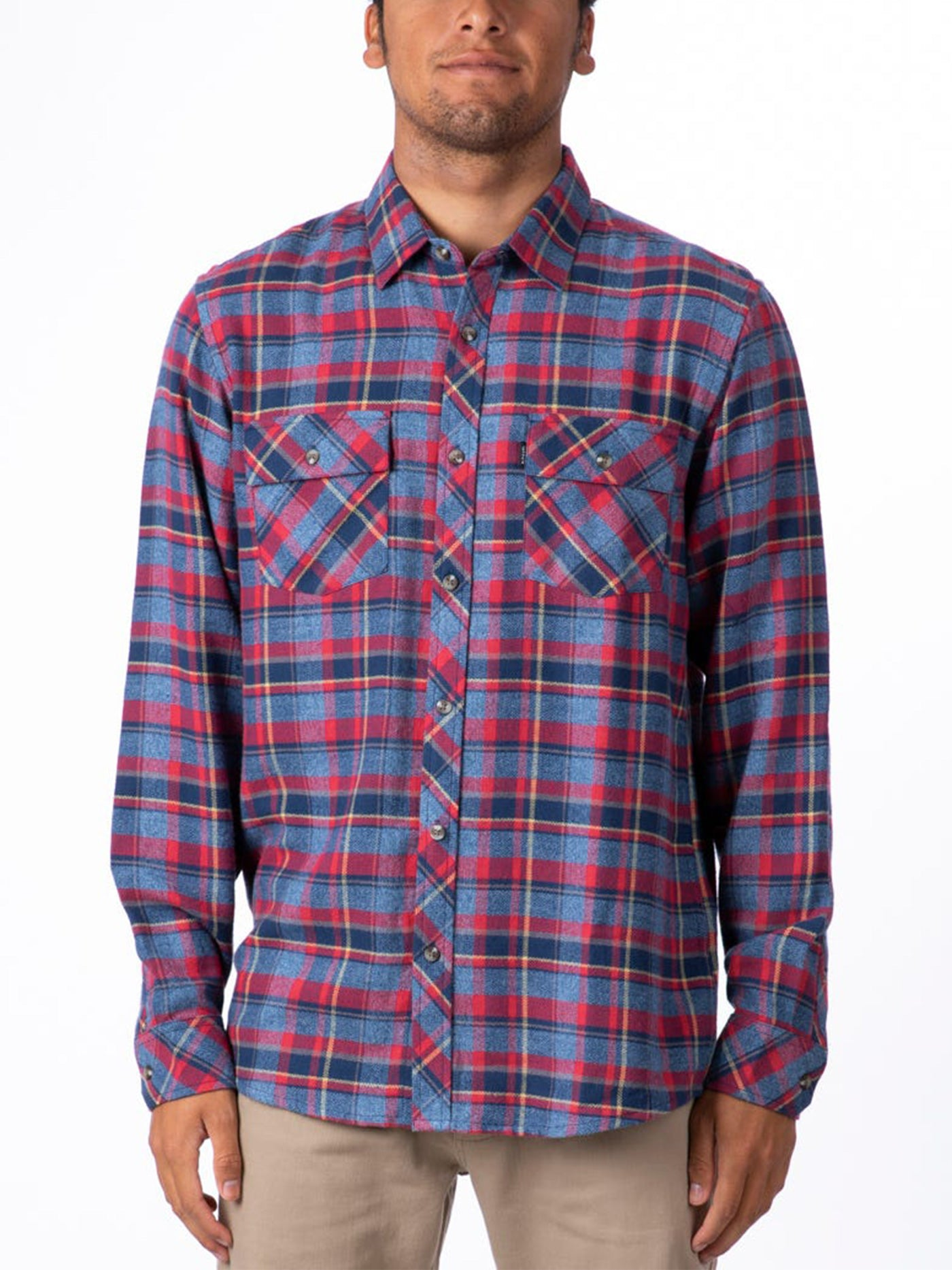 Decan Long Sleeve Buttondon Shirt
