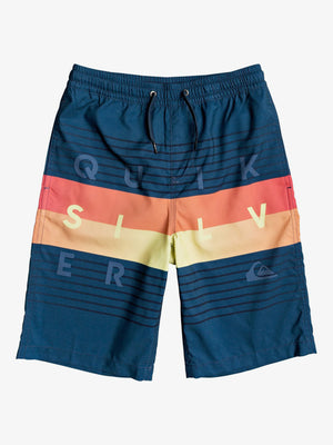 "Word Block Volley 19"" Boardshort (Boys 7-14)"
