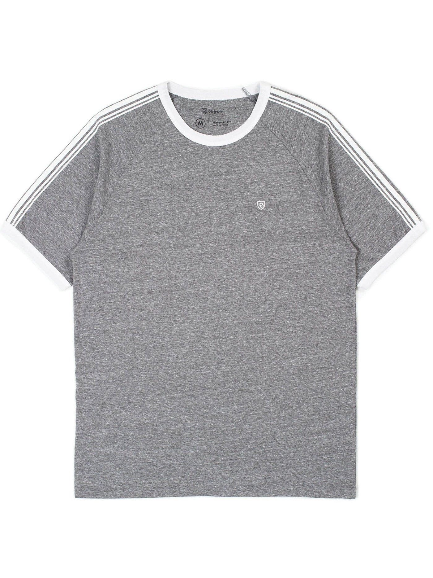 HEATHER GREY/WHITE