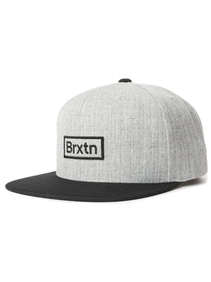 HEATHER GREY/BLACK/BLACK
