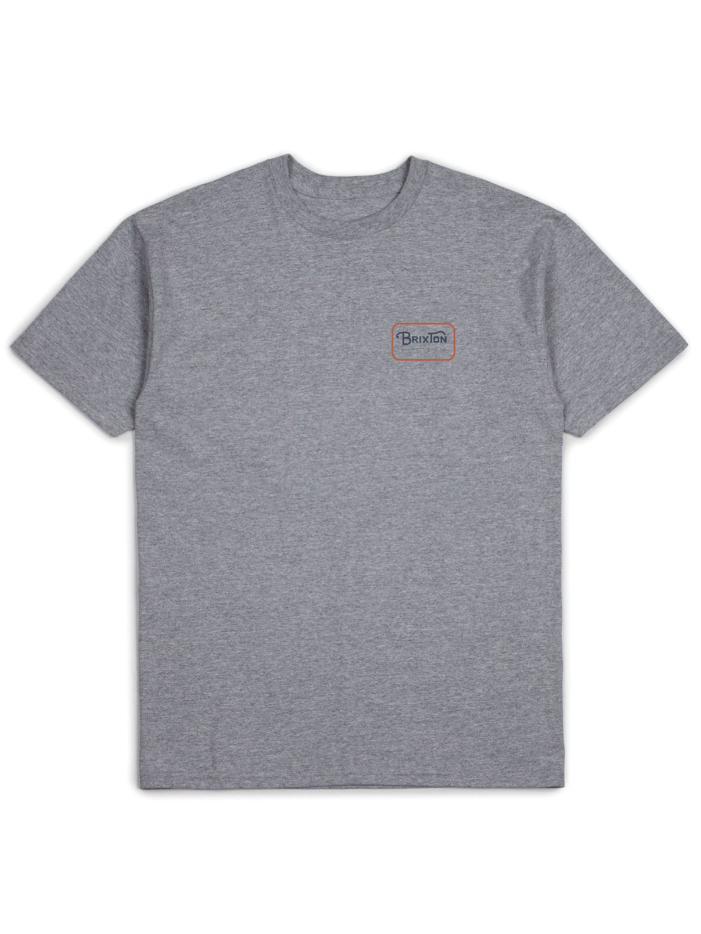HEATHER GREY/ORANGE