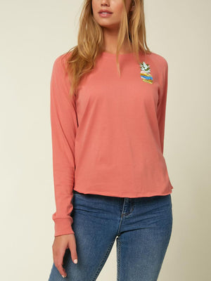 Hideaway Raglan Long Sleeve T-Shirt