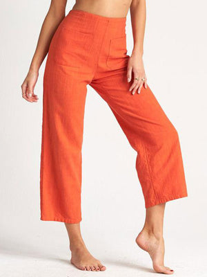 Back For More High Rise Wide Ankle Pants