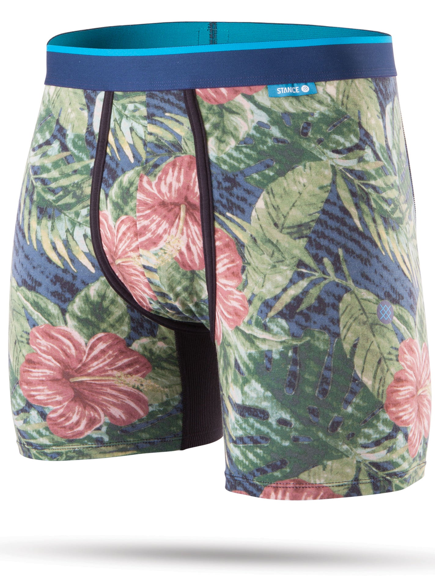 JUNGLE FLORAL NAVY (NVY)