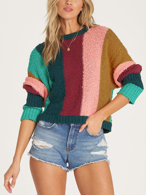 Easy Going Crop Sweater