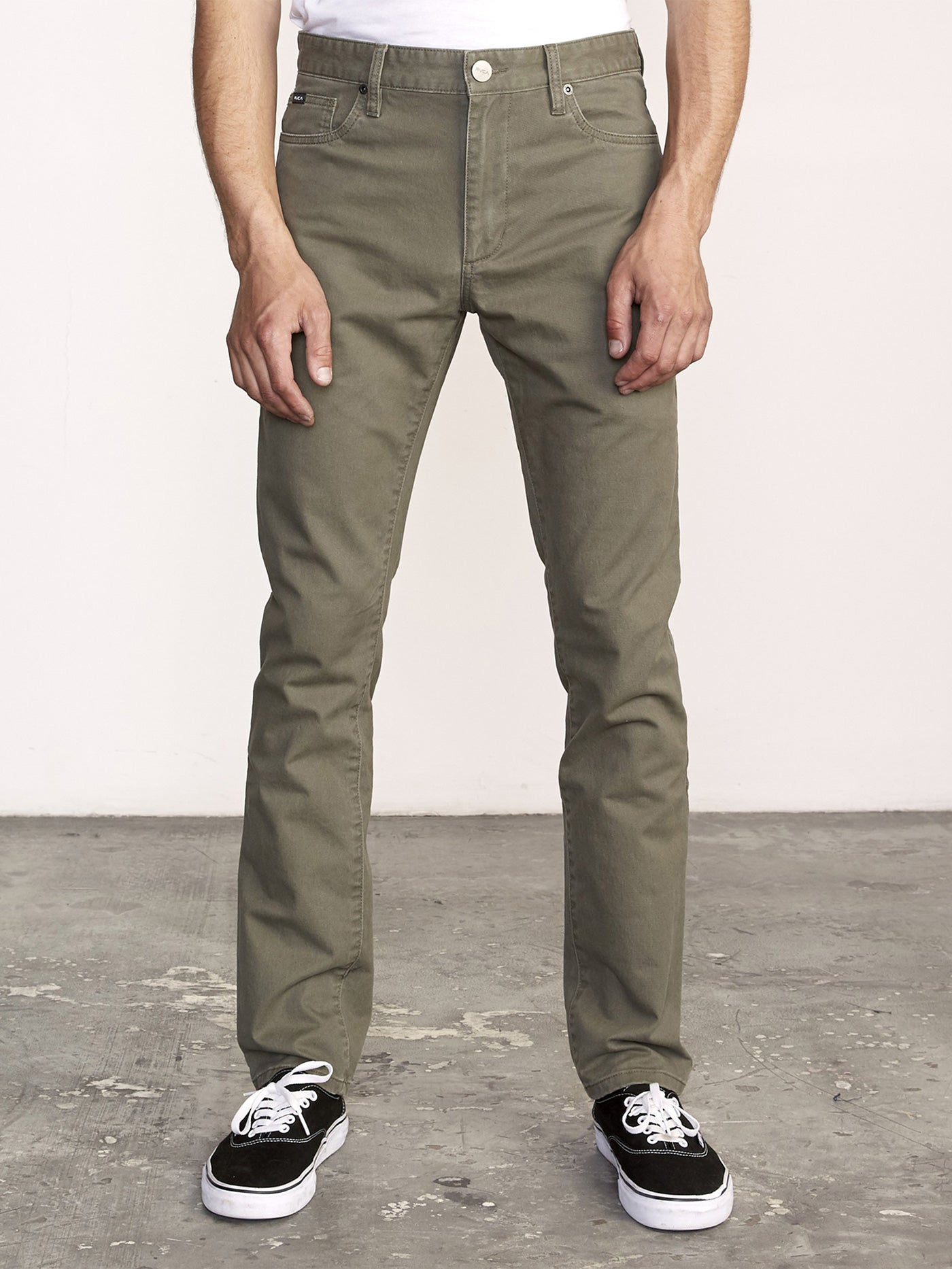 Daggers Slim Straight Fit Pants