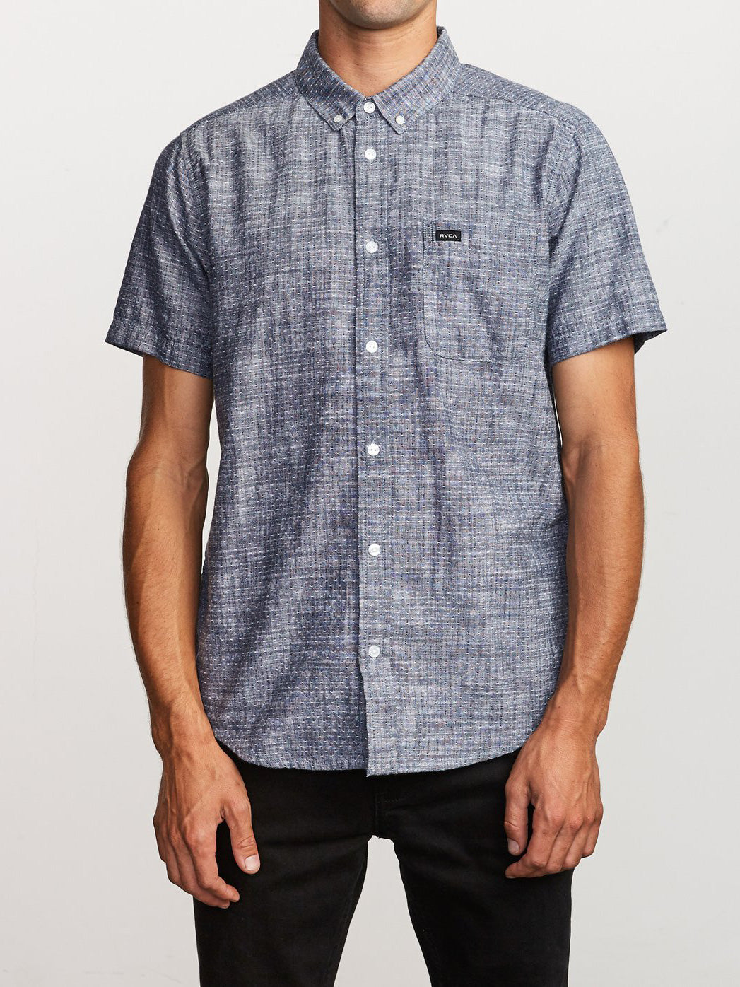 That'll Do Dobby Short Sleeve Buttondown Shirt