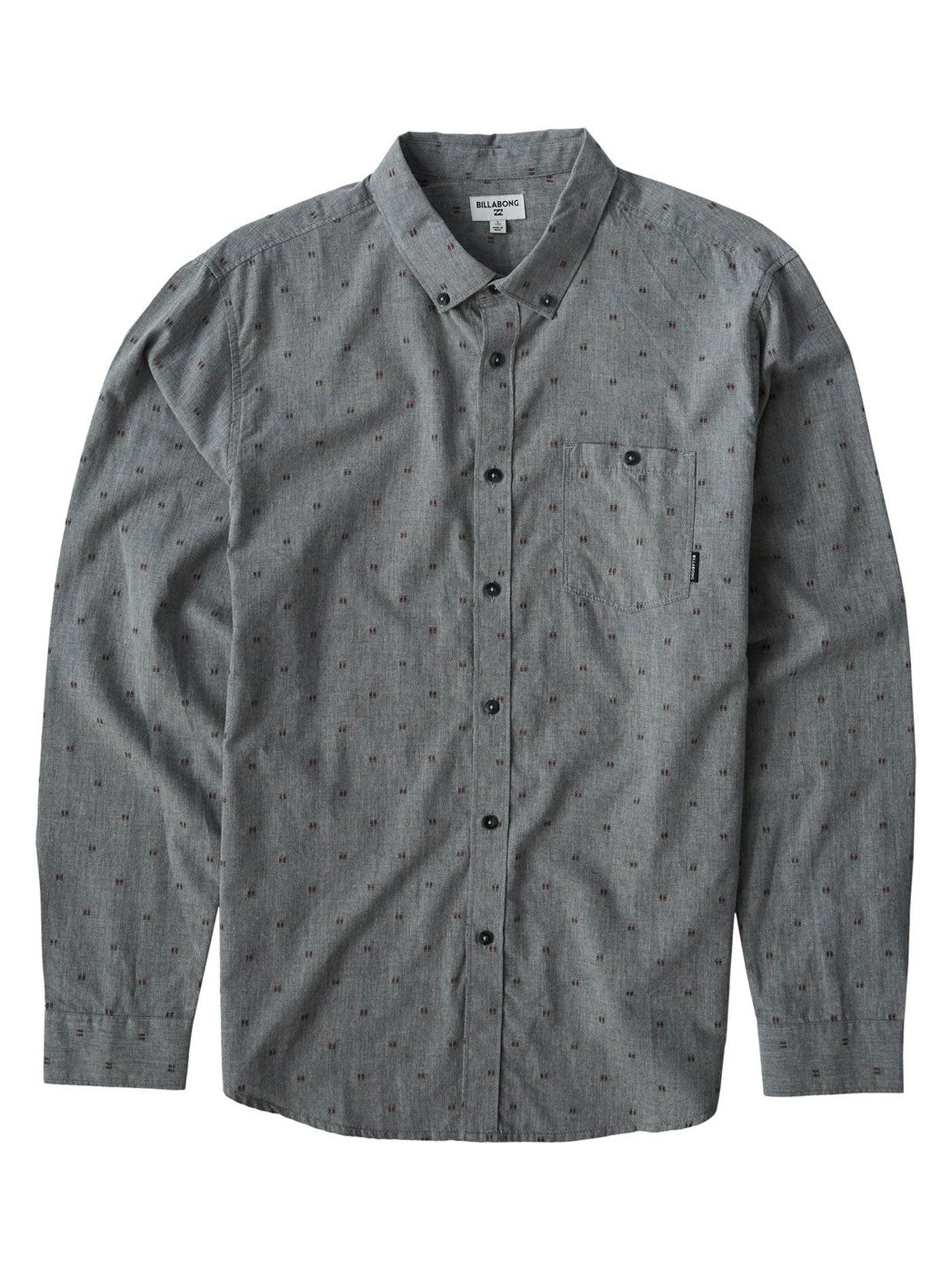 All Day Jacquard Long Sleeve Buttondown Shirt