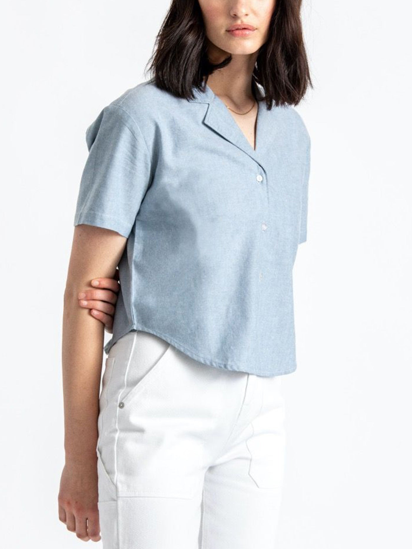 LIGHT BLUE CHAMBRAY
