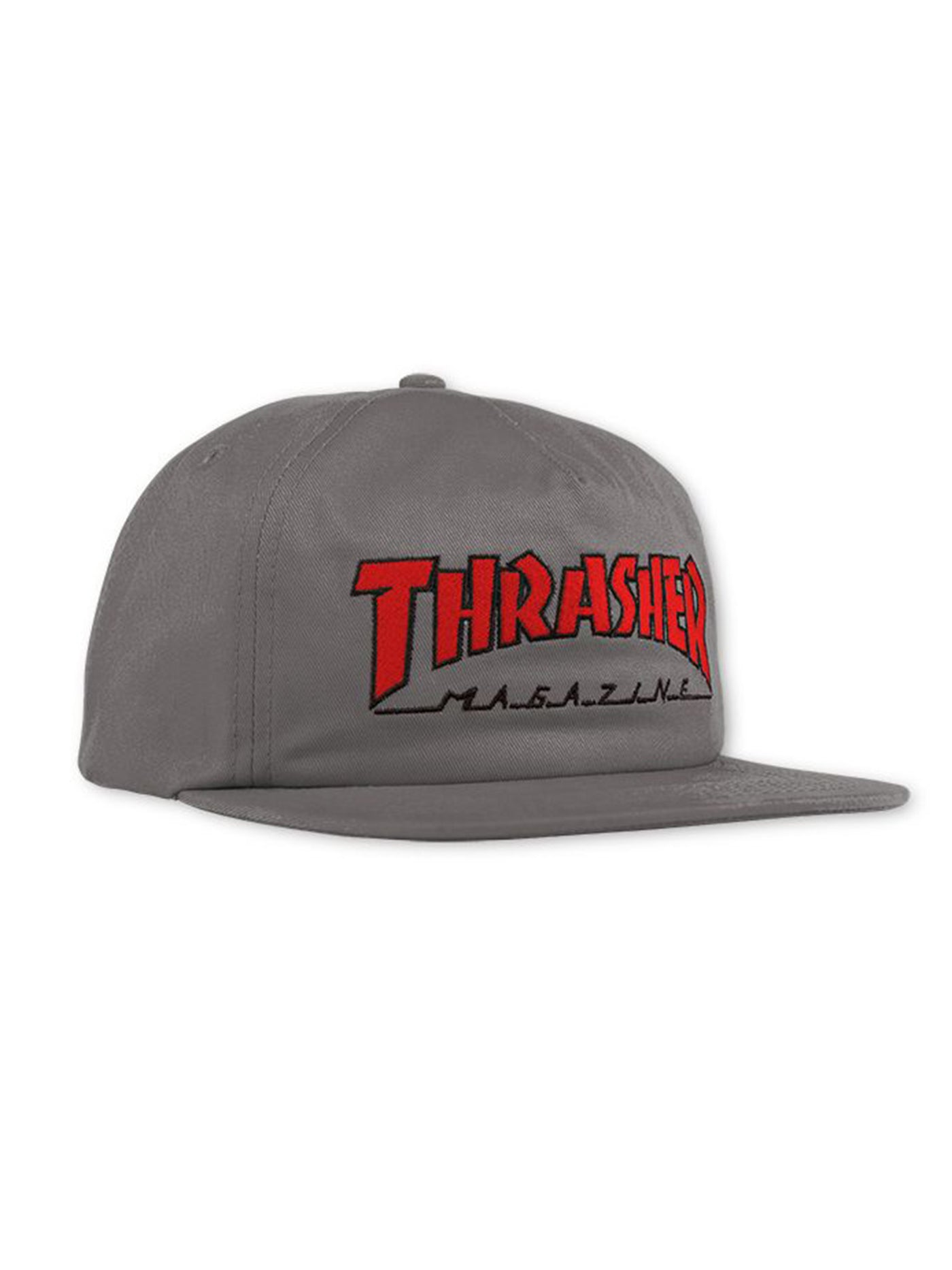 Outlined Snapback Hat