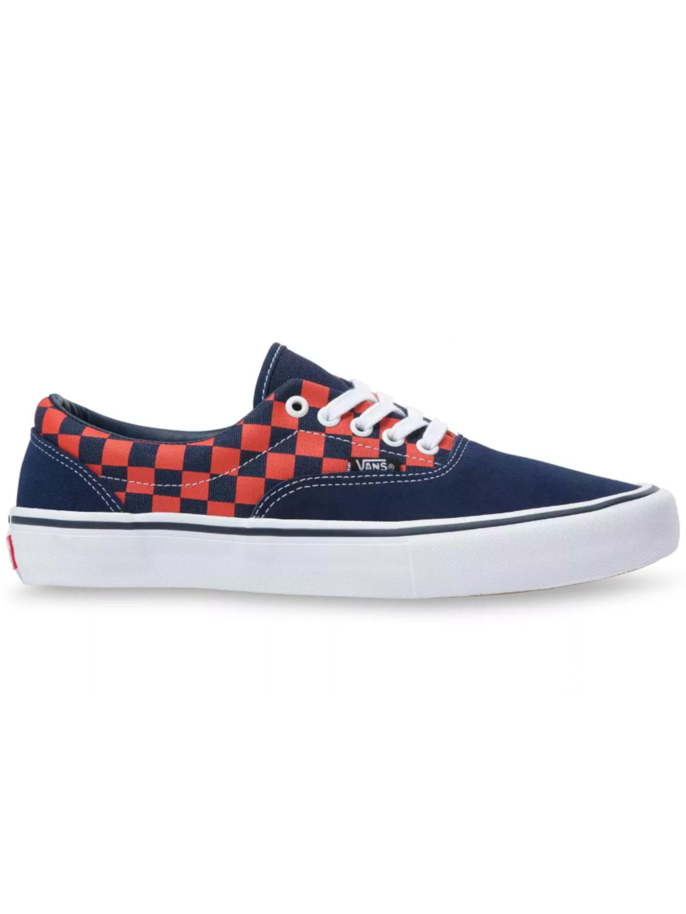 (CHECK) NAVY/ORANGE (W7E)