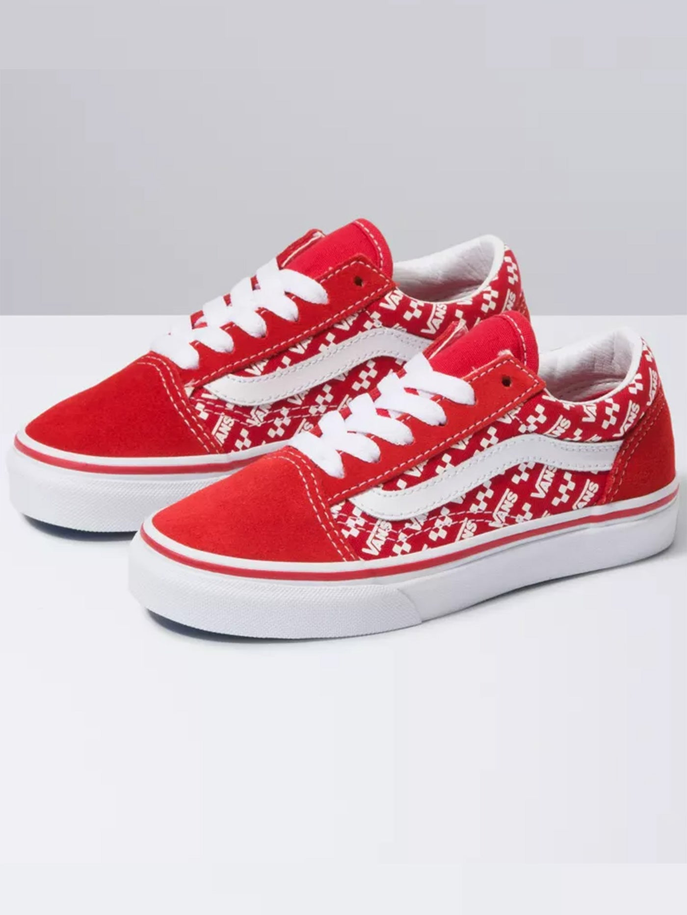 RACING RED/TRUE WHT (W35)