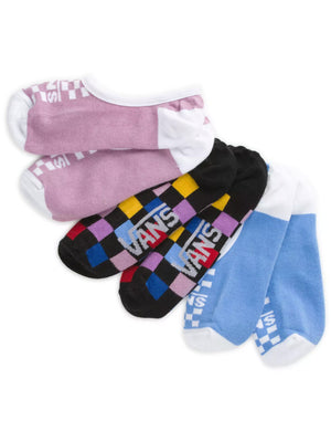 Multi Check Canoodle 1-6 3Pack Socks (Women)