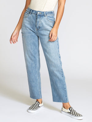 Holli Straight Ankle Fit Jeans