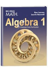 BIG IDEAS MATH Algebra 1: Common Core Student Edition 2015