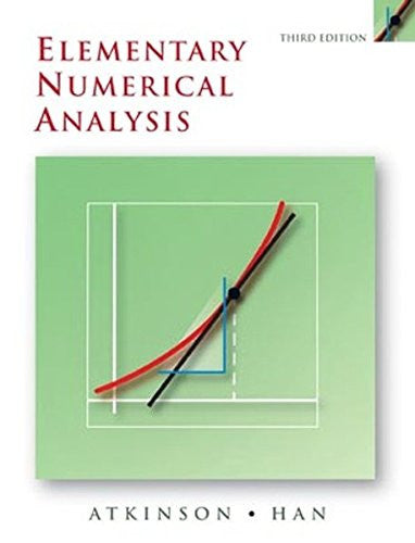 Elementary Numerical Analysis