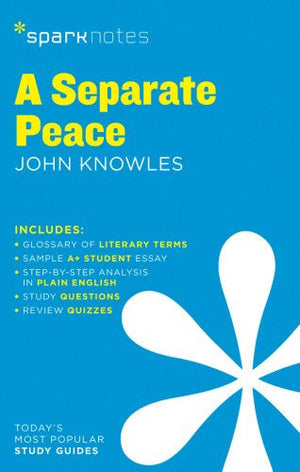 A Separate Peace SparkNotes Literature Guide (SparkNotes Literature Guide Series)
