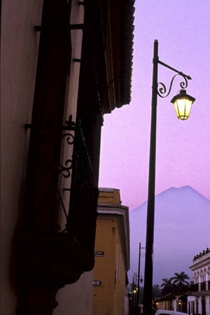 Antigua Sunrise in Guatemala Journal: 150 page lined notebook/diary
