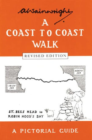 A Coast to Coast Walk (Wainwright Pictorial Guides)