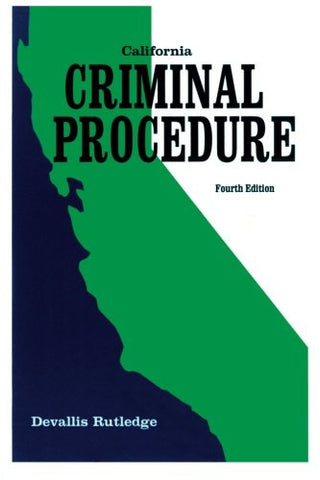 California Criminal Procedure