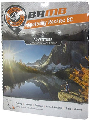 Kootenay Rockies BC (Backroad Mapbooks)