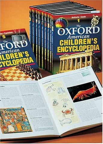 Oxford American Children's Encyclopedia: 9-volume set