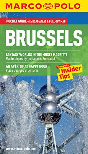 Brussels Marco Polo Guide (Marco Polo Guides)