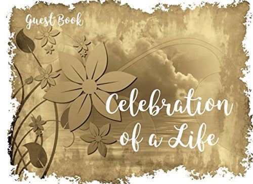 Celebration of a Life: Guest Book (Funeral Guest Books)