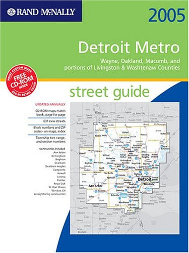 Reference page 2 kalosbooks rand mcnally detroit metro street guide including wayne oakland macomb and portions sciox Choice Image