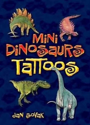 Mini Dinosaurs Tattoos (Dover Tattoos)