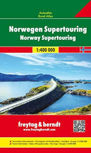 Norway Supertouring Road Atlas (English, Spanish, French, Italian and German Edition)