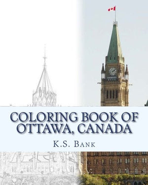 Coloring Book of Ottawa, Canada