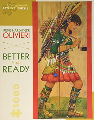 Irene Hardwicke Olivieri Better Is the Ready 1,000-piece Jigsaw Puzzle