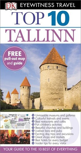 DK Eyewitness Top 10 Travel Guide: Tallinn