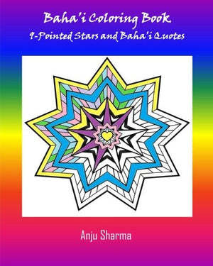Baha'i Adult Coloring Book: 9-Pointed Stars and Baha'i Quotes