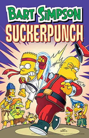 Bart Simpson Suckerpunch (Simpsons Comic Compilations)