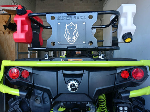 COBRA RACK for ALL CANAM with LINQ Using Plastic Base as picture on this product.