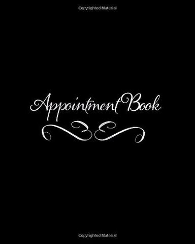 Appointment Book: Black 15 Minute Slots 3 Column Daily Schedule Appointment Book For Salons, Spas, Cosmetologists , Barbers And Other Business | .