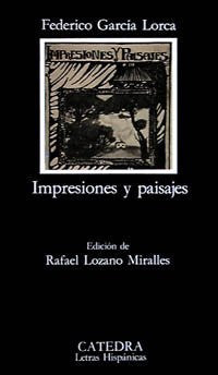 Impresiones y paisajes / Impressions and Landscapes (Letras Hispanicas / Hispanic Writings) (Spanish Edition)